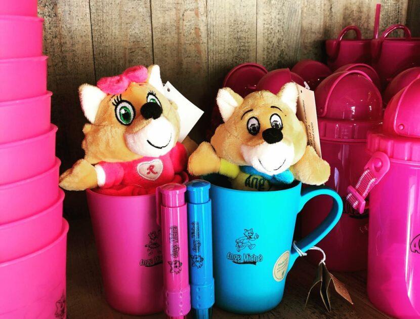 Angy et Roxy peluche et mug
