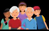 Visuel groupe famille