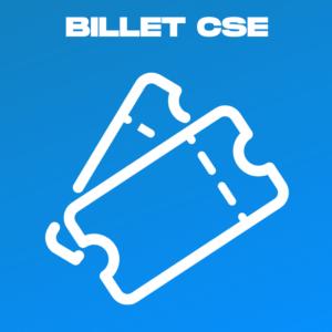 Visuel Billet CSE