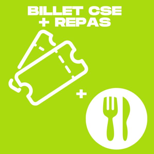 Visuel billet CSE + repas