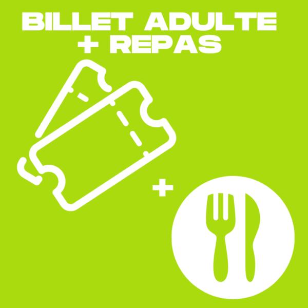 Visuel billet + repas adulte